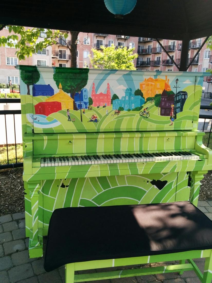 Piano vert