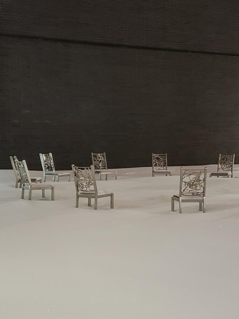 Sculpture-chaises