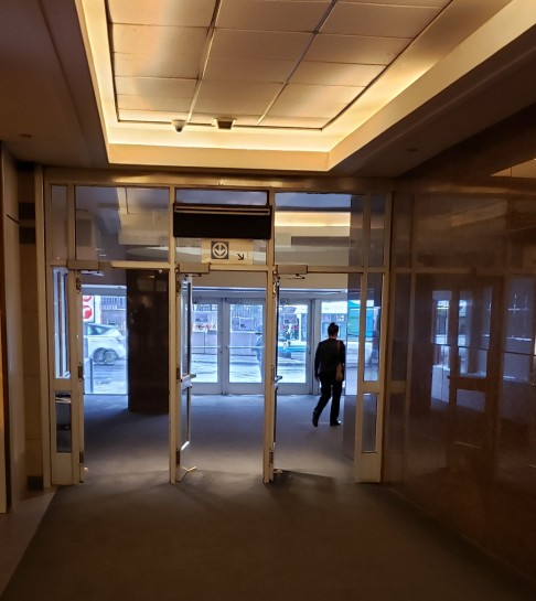 Porte de métroBonaventure