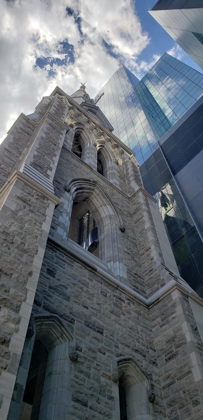 Tour et clocher-CHUM